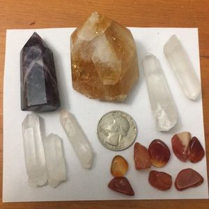 15 piece crystal lot